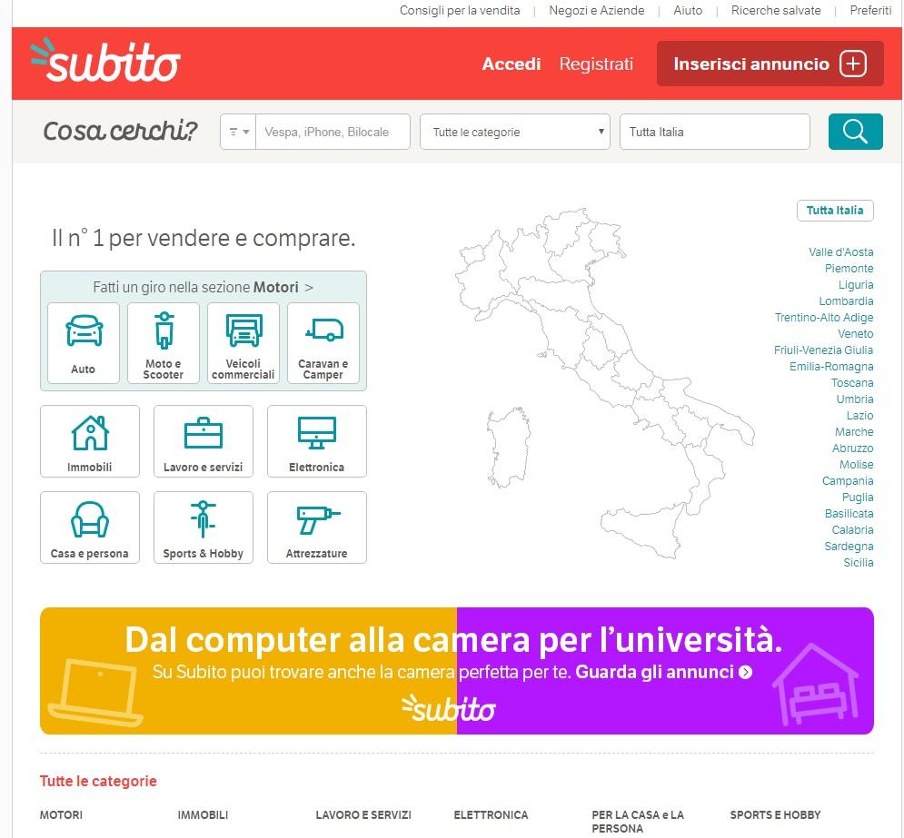Comment Acheter Et Vendre En Italie Comme Sur Leboncoin